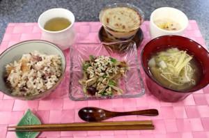 胃腸の弱い方への食事例
